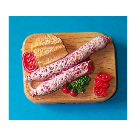 bread and salami