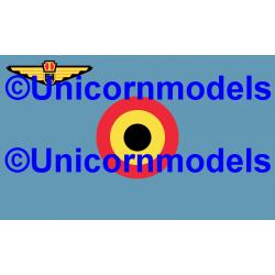 Belgische Luchtmacht vlag