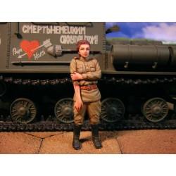 ML-009 WWII Russian Tank Crew