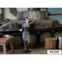 ML-055 WWII German Women Helper Corps