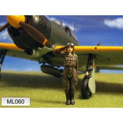 ML-060 WWII Japan Army Zero Fighter Pilot
