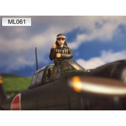 ML-061 WWII Japan Army Zero Fighter Pilot nr2