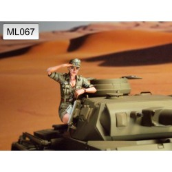 ML-067 WWII DAK Panzer Crew 1947
