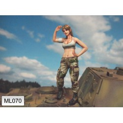ML-070 Female Army Soldier nr7