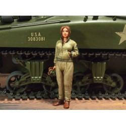 ML-072 WWII U.S. Tank Crew 1947