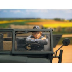 ML-012 WWII German Anti-Aircraft Auxiliaries Driver