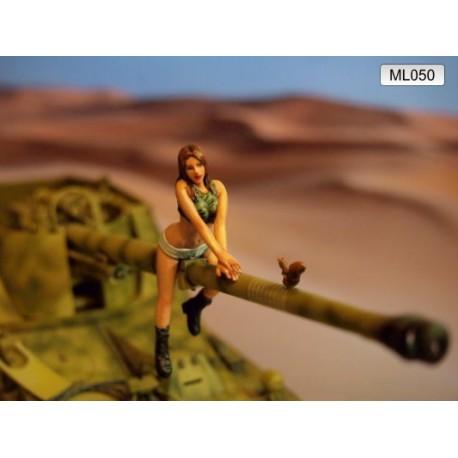 ML-050 Female Army Soldier nr5