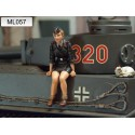 ML-057 WWII German Panzer Crew 1947 nr8