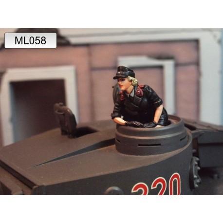 ML-058 WWII German Panzer Crew 1947 nr9