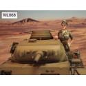 ML-068 WWII DAK Panzer Crew 1947 nr2