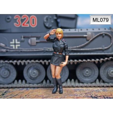 ML-079 WWII German Panzer Crew 1947 nr13