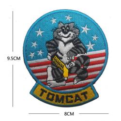 Top Gun velcro Tomcat 90x80mm