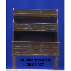 Stepped cabinet (ABS)