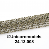 cable chain antique bronze
