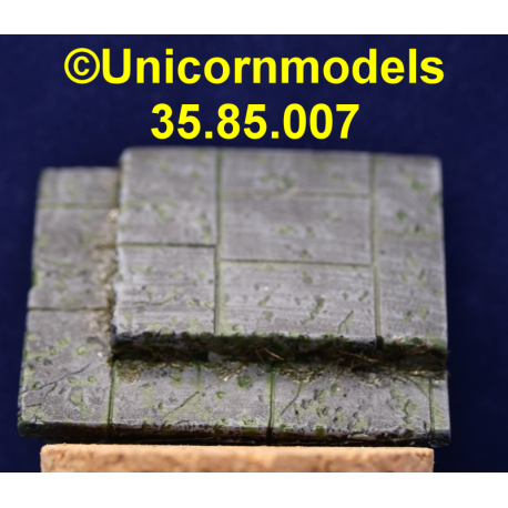 sokkel large stone base with step 60x55 mm